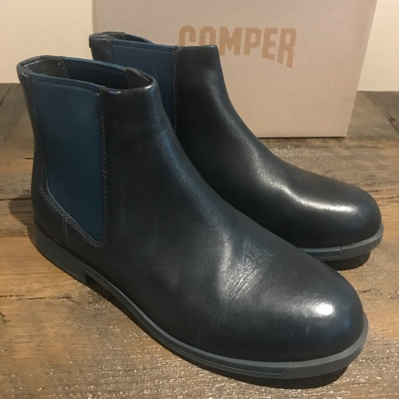Camper Bowie leather Chelsea boots new